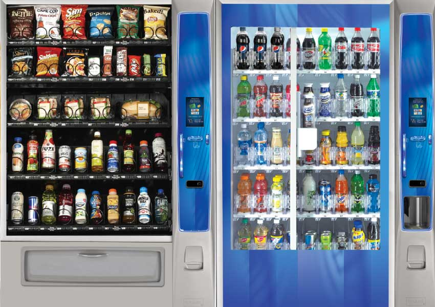 Vending machines by Universal Vending Management