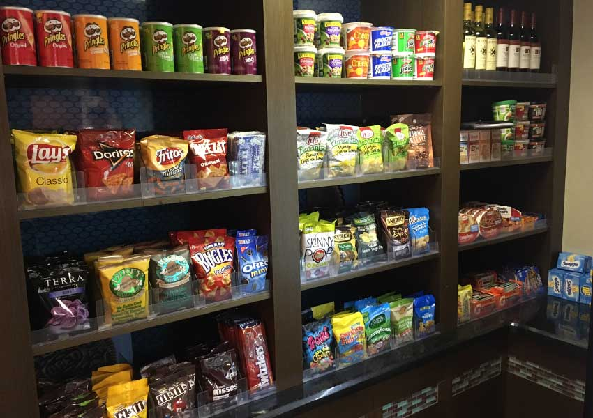 Pantry services from Universal Vending Management
